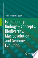 Evolutionary Biology     Concepts  Biodiversity  Macroevolution and Genome Evolution