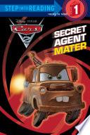 Secret Agent Mater  Disney Pixar Cars 2