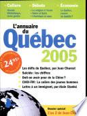 L annuaire du Qu  bec 2005