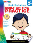 Early Writing Practice  Ages 3   6