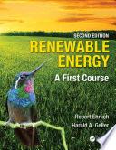 Renewable Energy  Second Edition