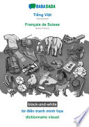 illustration BABADADA black-and-white, Tiếng Việt - Français de Suisse, từ điển tranh minh họa - dictionnaire visuel