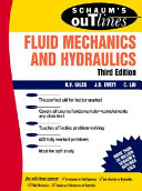 Schaum s Outline of Theory and Problems of Fluid Mechanics and Hydraulics