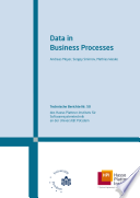 Data in Business Processes