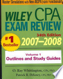 Wiley CPA Examination Review 2007 2008  Outlines and Study Guides