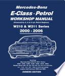 Mercedes E Class Petrol Workshop Manual W210   W211 Series