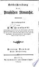Erdbeschreibung der preussischen Monarchie
