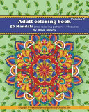 Adult Coloring Book 50 Mandala Stress Relieving Patterns with Quotes