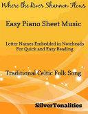 download ebook where the river shannon flows easy piano sheet music pdf epub