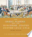 The Great Powers and the European States System 1814 1914
