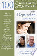 100 Questions   Answers About Depression