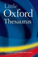 Little Oxford Thesaurus