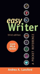 EasyWriter with 2009 MLA Update
