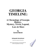 Georgia Timeline