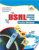 BSNL Jr  Engineer  TTA  Exam Guide   Practice Workbook  Concept Notes   2 Solved   10 Practice Sets  2nd Edition