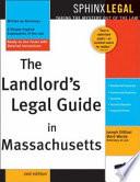 The Landlord s Legal Guide in Massachusetts