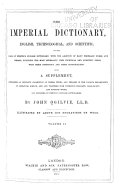 download ebook the imperial dictionary, english, technological, and scientific pdf epub