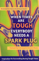 When Times Are Tough Everybody Needs a Spark Plug Feeling Down You Need One Thing And One