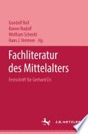 Fachliteratur des Mittelalters
