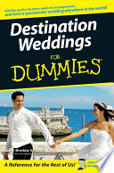 Destination Weddings For Dummies Book PDF