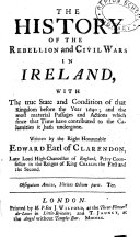 download ebook the history of the rebellion and civil wars in ireland pdf epub
