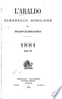 L Araldo   almanacco nobiliare del napoletano
