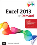 Excel 2013 On Demand