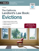 California Landlord s Law Book  The   Evictions