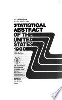 Statistical Abstract of the United States  1988 Book PDF
