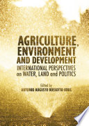 Agriculture Environment And Development