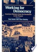 Working for Democracy