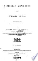 Victorian Year Book for the Year
