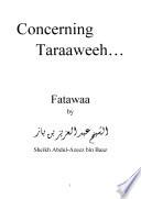 Fatwa concerning Taraweeh   Ibn Baaz