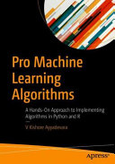 Pro Machine Learning Algorithms