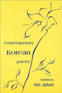 Contemporary Korean Poetry