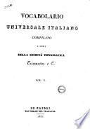 Vocabolario universale italiano  diretto da Raffaele Liberatore