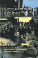 European Memories of the Second World War