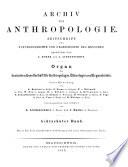 Archiv für Anthropologie