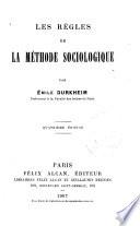Les r  gles de la m  thode sociologique