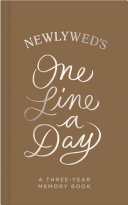 Newlywed One Line a Day Book PDF