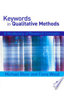 Keywords in Qualitative Methods