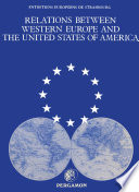 illustration du livre Relations between Western Europe and the United States of America