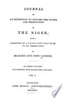 Journal of an Expedition to Explore the Course and Termination of the Niger