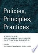Policies Principles Practices