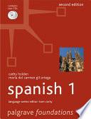 Foundations Spanish 1