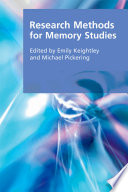 Research Methods for Memory Studies