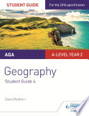AQA A level Geography Student Guide 4  Geographical Skills and Fieldwork