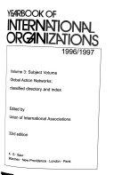 Yearbook of International Organizations  1996 97