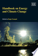 Handbook On Energy And Climate Change book