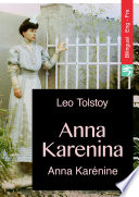 Anna Karenina  English French bilingual Edition illustrated